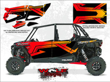 WD-DKB-030 - 2017 RZR XP4 Turbo - Cruiser Black - Door Kit
