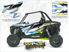 WD-DKB-032 - 2017 RZR XP 1K - White Lightning - Door Kit