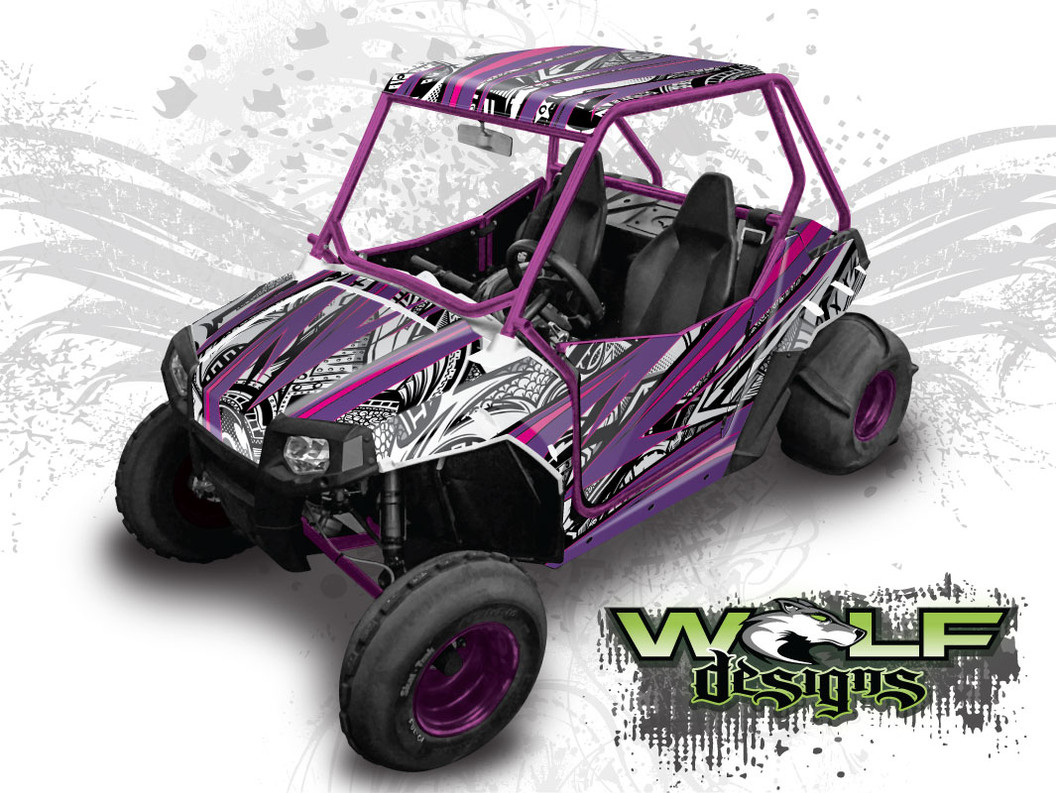 The best RZR 170 graphics wrap kit