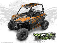 The best Polaris RZR S 900 wrap kit