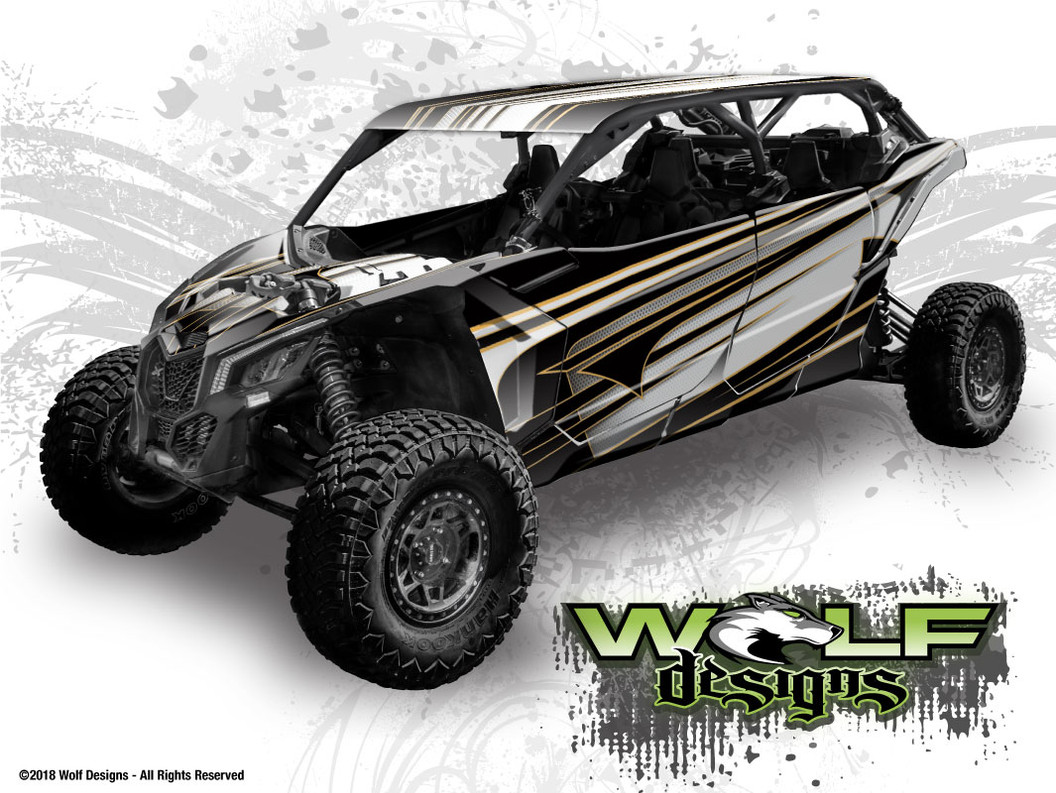 The best Can-Am Maverick X3 Max Wrap Kit