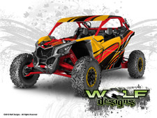 UTV Graphics Wrap Kit For Can-Am Maverick X3