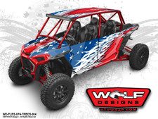 The best Polaris RZR Turbos 4 Seat Wrap Kit