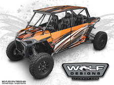 The best Polaris RZR Turbos 4 Seat UTV Graphics Kit