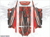 Wolf Designs Polaris RZR Turbos 4 Seat UTV Graphics Wrap Kit
