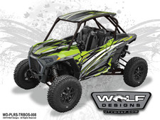Polaris RZR Turbo S - UTV Graphics Wrap Kit