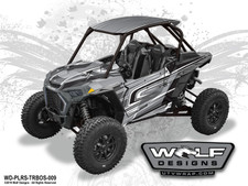 WD-PLRS-TRBOS-009 - Polaris RZR Turbo S UTV Wrap Kit (EXTREME PLUS KIT SHOWN)