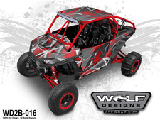 Wolf Designs - The best Polaris RZR UTV wrap kits