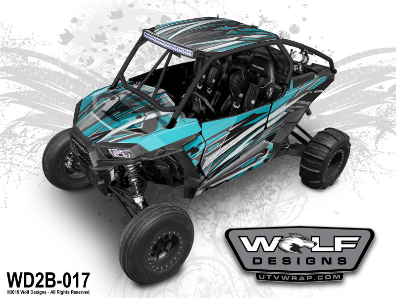 Wolf Designs - Polaris RZR UTV Graphics Kit