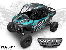 Wolf Designs - Polaris RZR UTV Graphics Kit