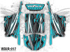 Wolf Designs - Polaris RZR UTV Graphics Wrap Kit