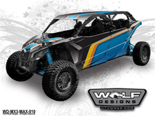 Wolf Designs - The best UTV graphics for Can-am Maverick X3 Max