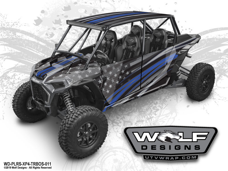 Wolf Designs - The Best UTV Graphics for the Polaris Turbos S 4-Seat