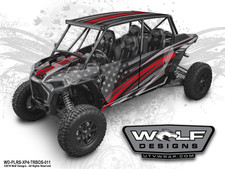 Wolf Designs - The Best UTV Graphics for the Polaris Turbos S 4-Seat