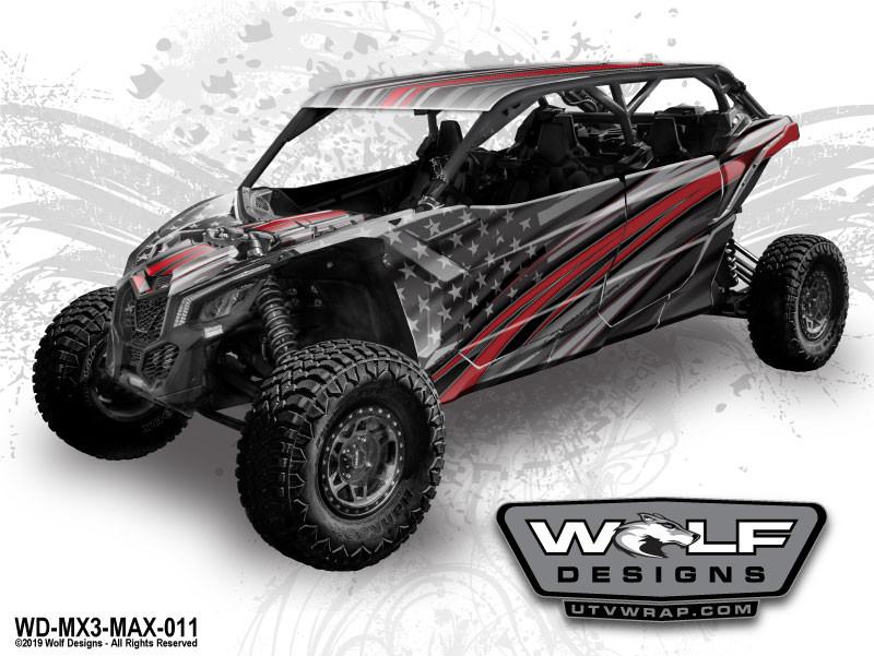 Wolf Designs - The best UTV wrap graphics