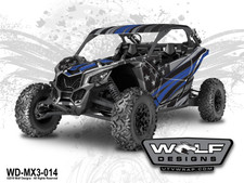 Can am Maverick X3 - UTV Wrap kit