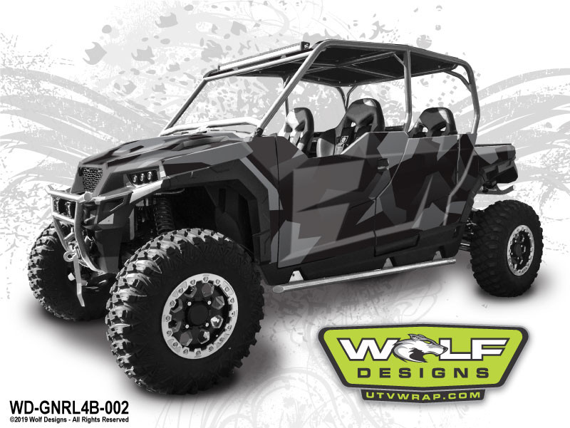 Polaris General 4 - UTV Wrap Graphics Kit
