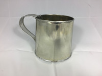 USS Cairo tapered cup made from hot dipped tin