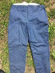 Men's trouser in cotton denim
