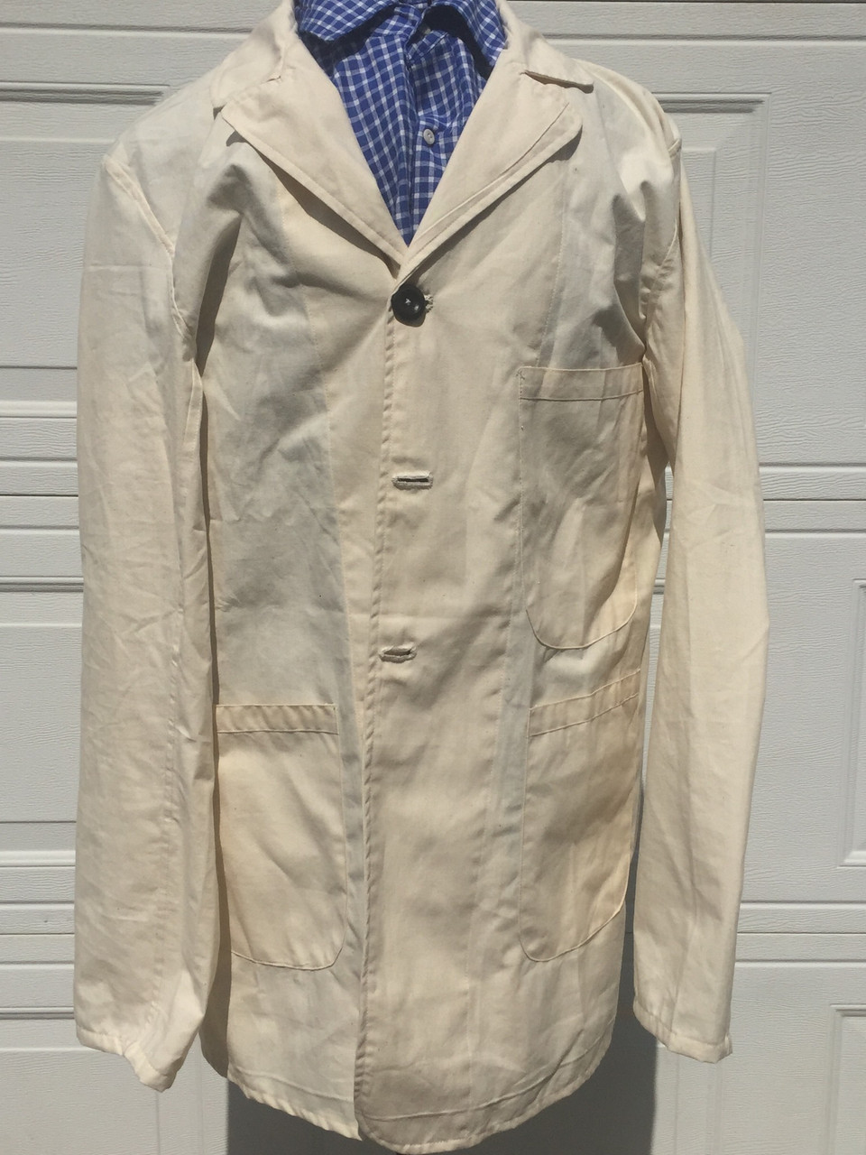 Civilian Sack Coat - Cotton