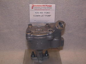 Blueprinted Melling M-84EHV Ford 429-460 High Volume Pump Front Sump (SCJ,  Boss with 9 Inch Pan)