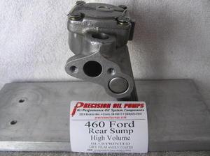 Blueprinted Melling M-84DHV Ford 429-460 High Volume Pump Rear Sump Pan