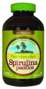 Pure Hawaiian Spirulina Pacifica - 1000mg 180tabs