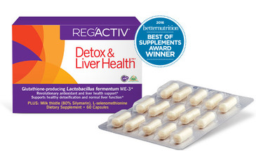 Reg'Activ - Detox and Liver Health- By Essential Formulas