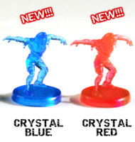 Two Last Night On Earth Zombie Miniature Sets (Crystal colors)