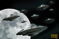 IFOS Invasion From Outer Space Poster-Art Print