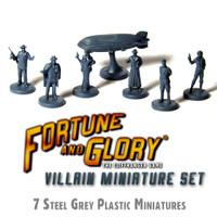 Fortune and Glory Villains + Zeppelin Set (Dark Grey)