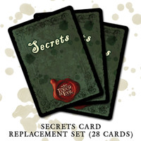 Secrets Card Replacement Set for A Touch of Evil