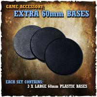 Shadows of Brimstone: 3x 60mm Extra Bases