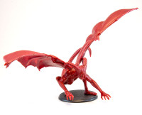 Shadows of Brimstone: Harbinger XL Miniature in Red