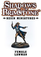 Shadows of Brimstone: Resin Female Lawman LIMITED PREVIEW