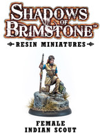 Shadows of Brimstone: Resin Female Indian Scout LIMITED PREVIEW