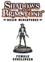 Shadows of Brimstone: Resin Female Gunslinger LIMITED PREVIEW