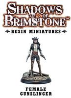 Shadows of Brimstone: Resin Female Gunslinger LIMITED PREVIEW