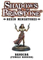 Shadows of Brimstone: Resin Bandida (Female Bandido) LIMITED PREVIEW