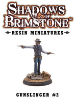 Shadows of Brimstone: Resin Male Gunslinger #2 LIMITED PREVIEW