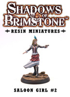 Shadows of Brimstone: Resin Saloon Girl #2 LIMITED PREVIEW