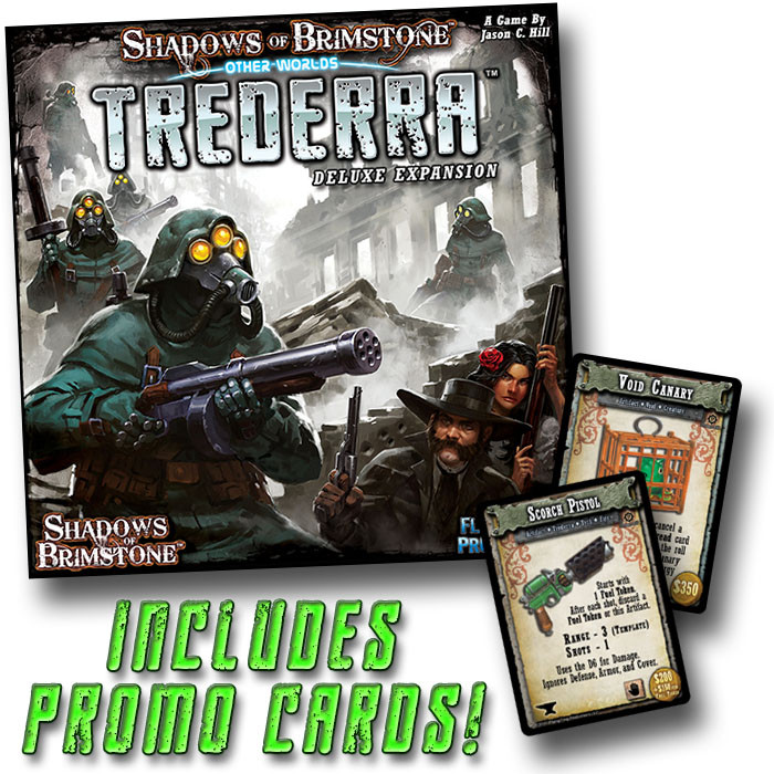 Trederra Deluxe • OtherWorld Expansion Shadows of Brimstone Spiele