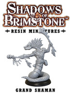 Shadows of Brimstone: Resin Special Enemy Grand Shaman LIMITED PREVIEW
