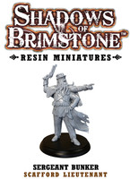Shadows of Brimstone: Resin Special Enemy Sgt. Bunker LIMITED PREVIEW