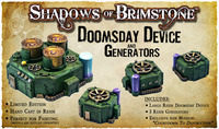Shadows of Brimstone: Doomsday Device and Generators resin LIMITED EDITION