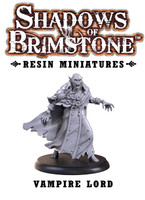 Shadows of Brimstone: Resin Special Enemy Vampire Lord LIMITED PREVIEW