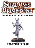 Shadows of Brimstone: Resin Special Enemy Hellfire Witch LIMITED PREVIEW