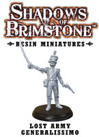 Shadows of Brimstone: Resin Special Enemy Lost Army Generalissimo LIMITED PREVIEW