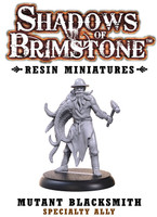 Shadows of Brimstone: Resin Specialty Ally Mutant Blacksmith LIMITED PREVIEW