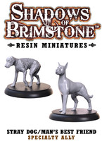 Shadows of Brimstone: Resin Specialty Ally Dogs Set LIMITED PREVIEW